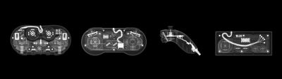 X rays game controllers
